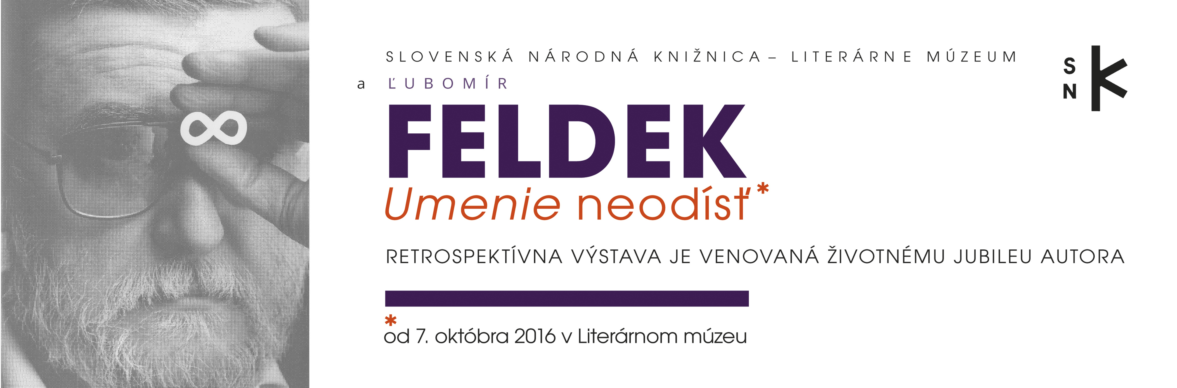 Slovak National Library - Ľubomír Feldek - The Art of Unleaving (exhibition)