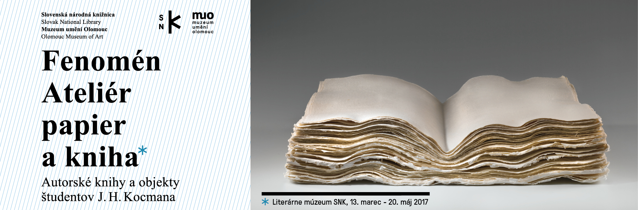 Slovak National Library - The Phenomenon of the Papier and Book Atelier (exhibition)