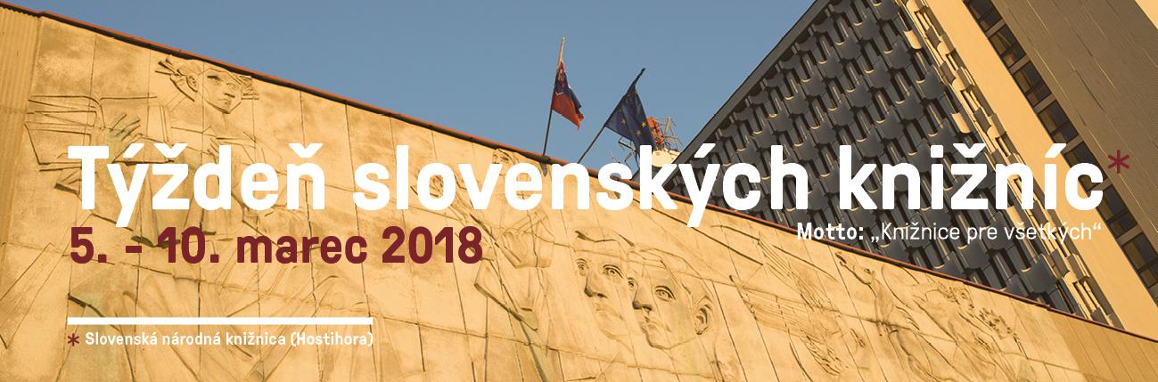 Slovenská národná knižnica - Týždeň slovenských knižníc 2018 v SNK