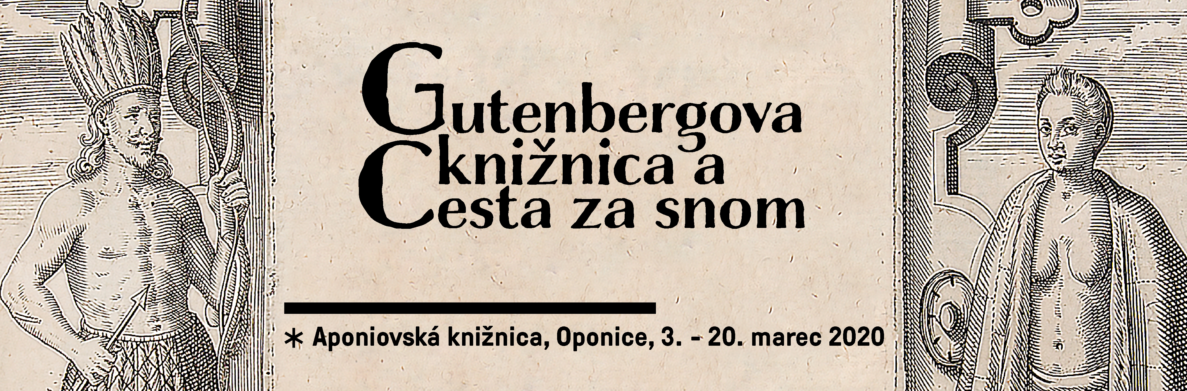 Gutenbergova knižnica a Cesta za snom