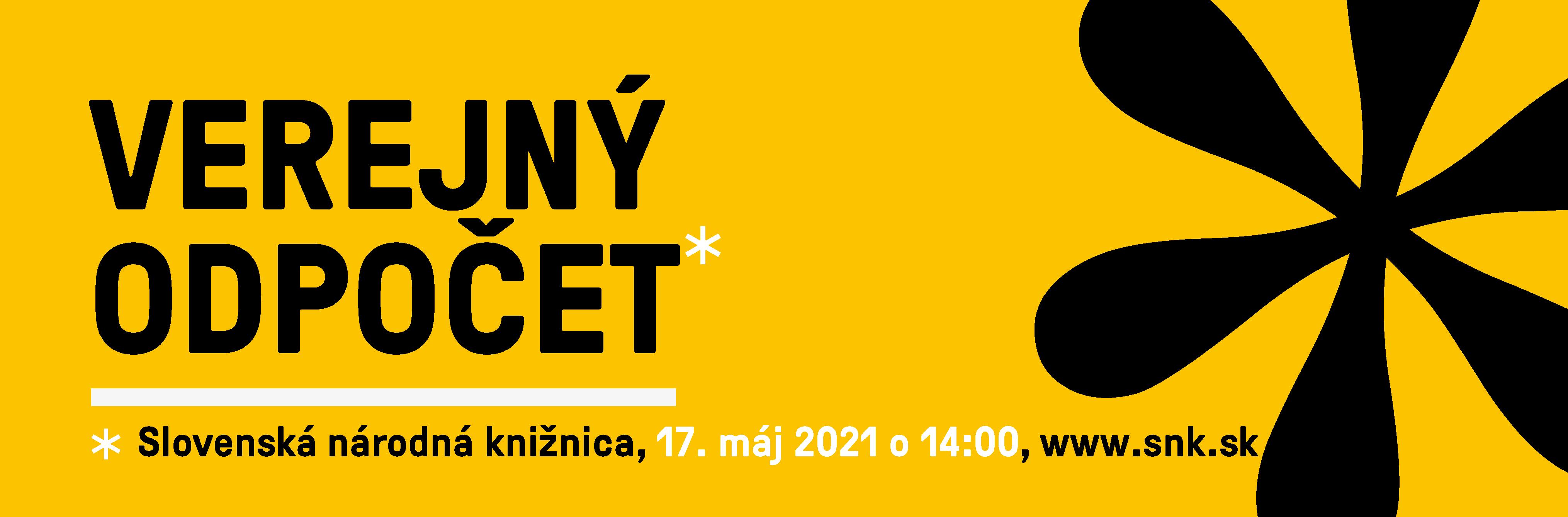 Verejný odpočet činnosti a hospodárenia SNK za rok 2020