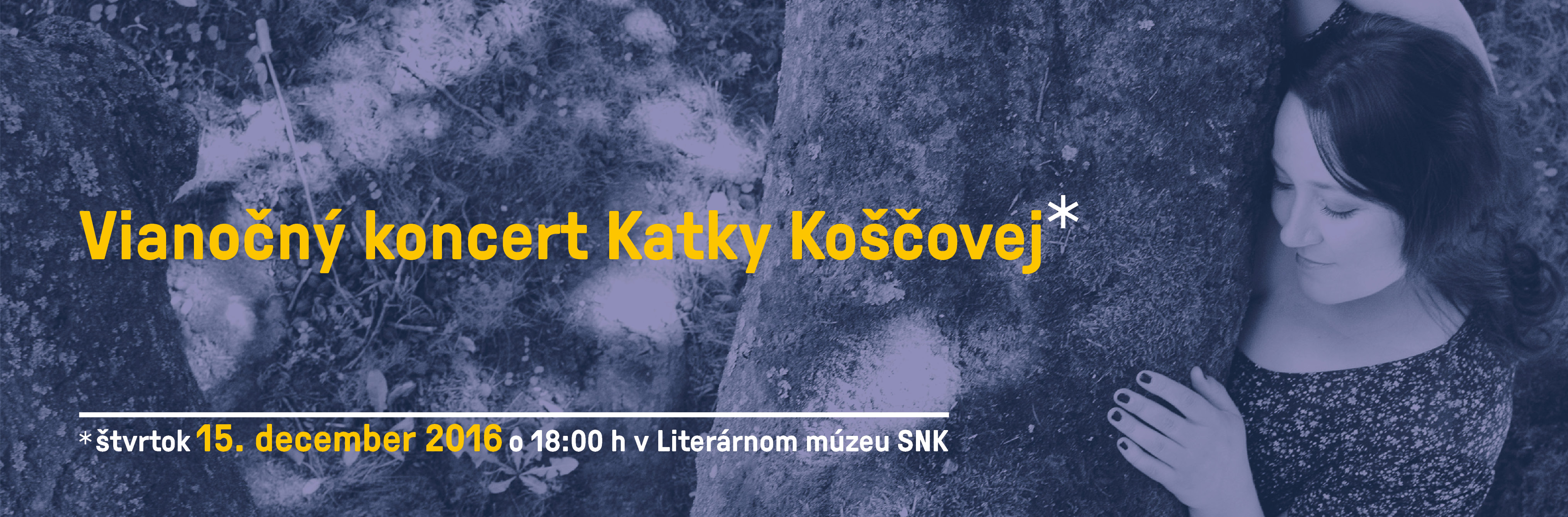 Slovak National Library - Christmast Concert of Katka Koščová