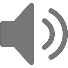 icon listen grey
