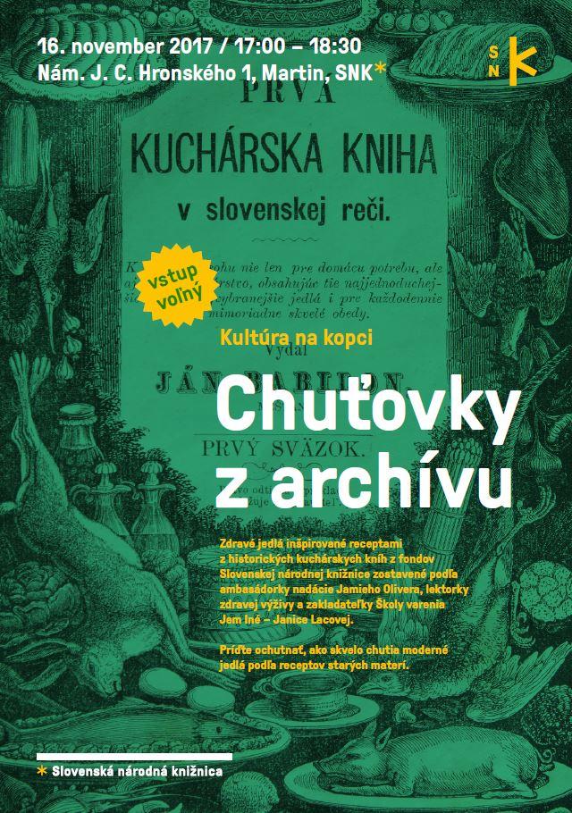 2017-11-16 SNK Kultura na kopci Chutovky z archivu plagat